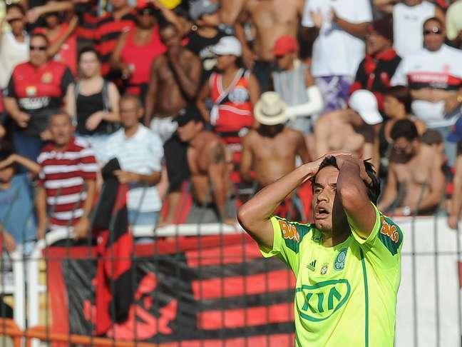 Palmeiras desperdiçou grandes chances contra o Flamengo