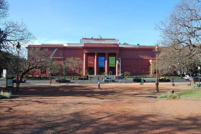 O Museo Nacional de Bellas Artes reúne as principais coleções internacionais do país