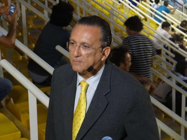 Galvão Bueno reclamou da estrutura em Buenos Aires e criticou juiz