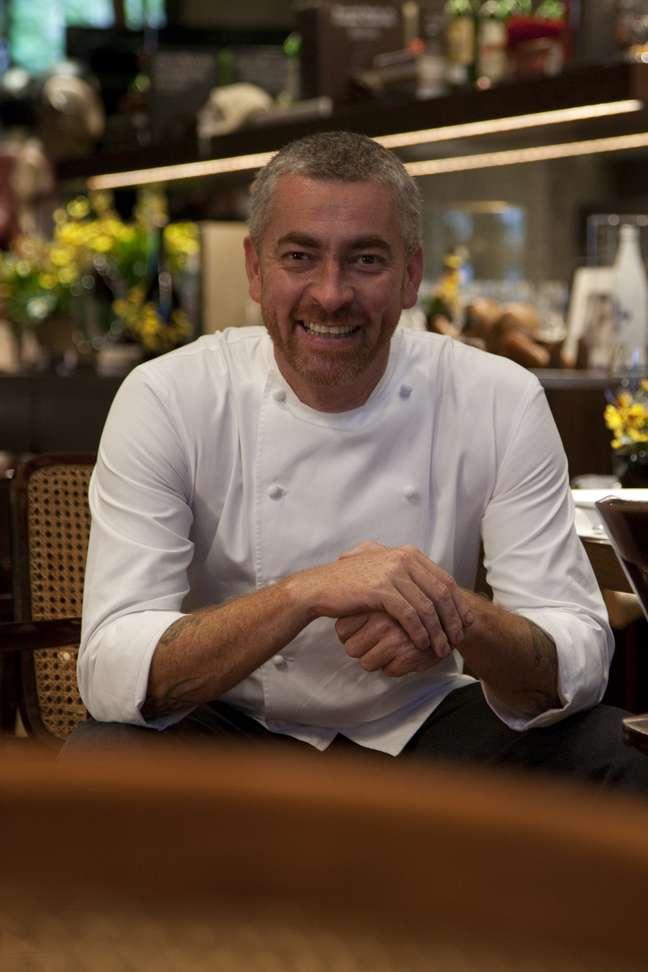 Alex Atala irá representar a cozinha mineira brasileira junto com mais 15 chefs