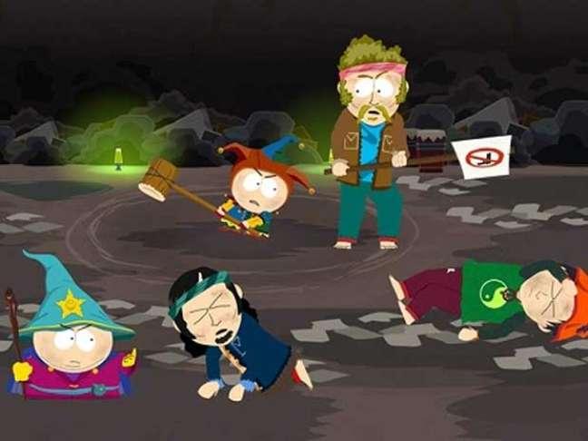 Cena de 'South Park: The Stick of Truth', baseado na animação de sucesso da Comedy Central