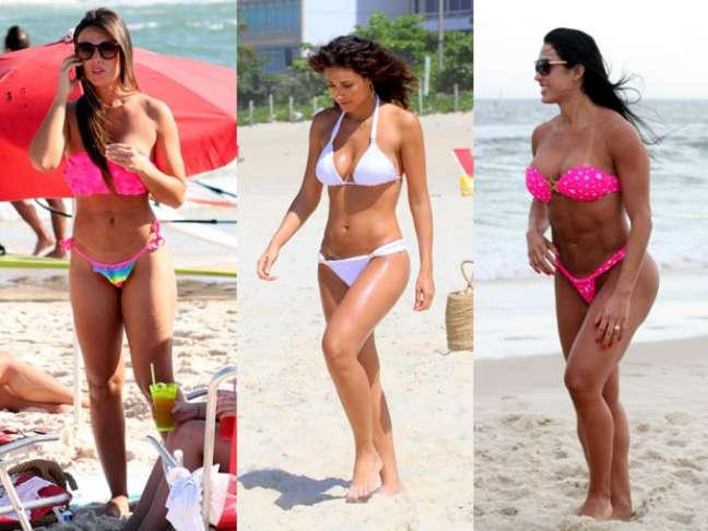 Mesmo caprichando no visual para ir à praia, algumas famosas cometem alguns deslizes; confira e evite-os