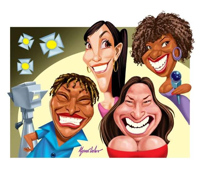 Além deMart'nália, já apareceram na TV cantoras como Ivete Sangalo,Margareth Menezes e Fafá de Belém