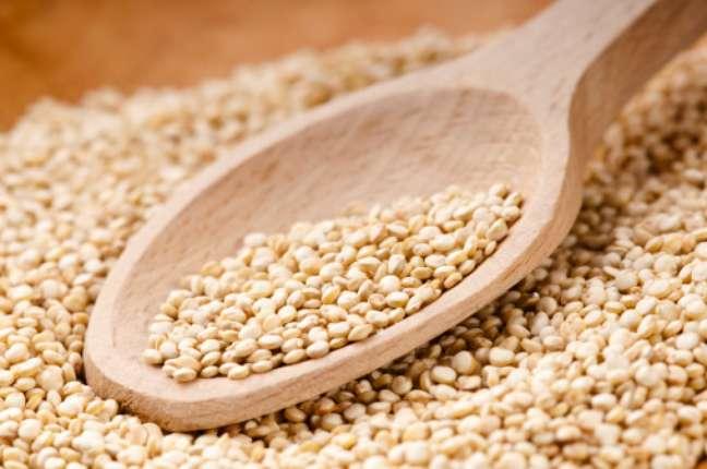 """<p>Considerada um """"superalimento"""", a quinoa é cheia de fibras e proteínas</p>"""