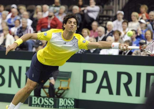 Com duas derrotas no primeiro dia, Brasil se complicou no Grupo Mundial da Copa Davis