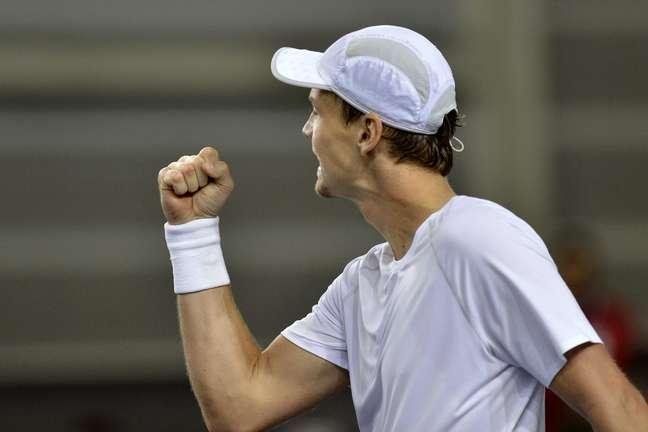 Tenista superou Wawrinka em Genebra