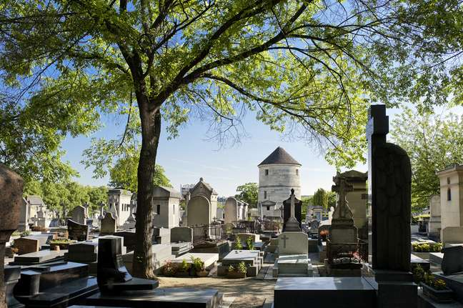 <p>Cemitério é opção de passeio em Paris</p>