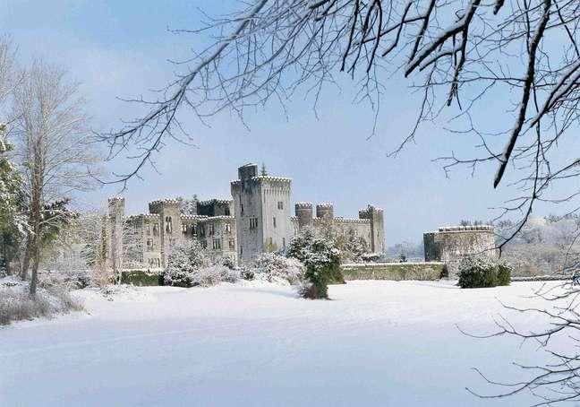 <p>O castelo de Ashford possui83 quartos e um spa de luxo</p>