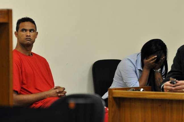 <p>Goleiro Bruno foi condenado em março pela morte de Eliza Samudio</p>