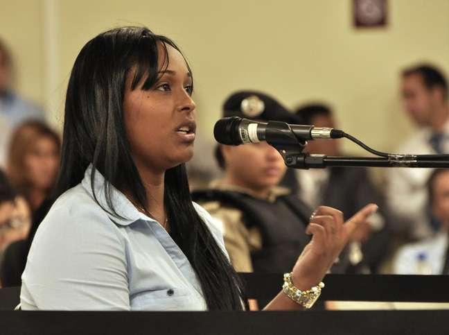 <p>Ex-mulher de Bruno passou quatro meses presa em 2010;&nbsp;na madrugada de hoje, foi considerada inocente pelos jurados</p>