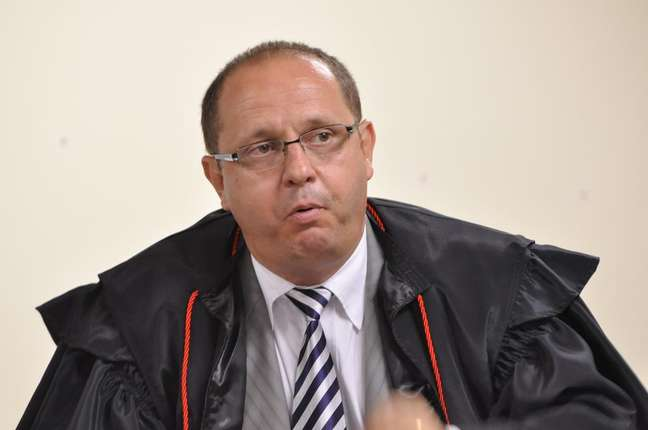 <p>O advogado Ércio Quaresma durante o julgamento do ex-policialBolaque durou seis dias</p>