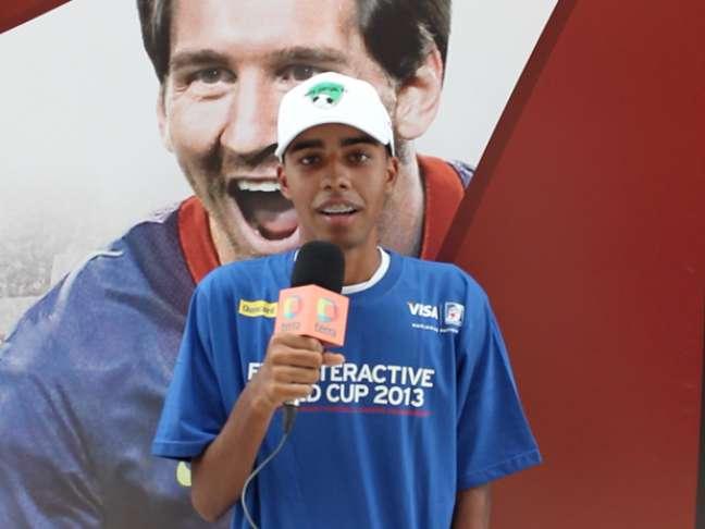<p>Gustavo Nascimento, vencedor do campeonato em 2011 e 2012</p>