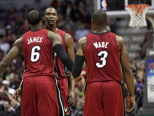 Astros comemoram mais um triunfo do Heat na NBA