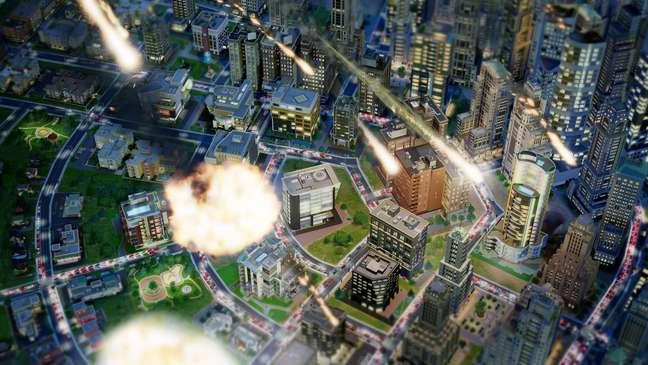 <p>Lançado em 5 de março, 'SimCity' vendeu 1,1 milhão de cópias, 44% deles pela Origin</p>