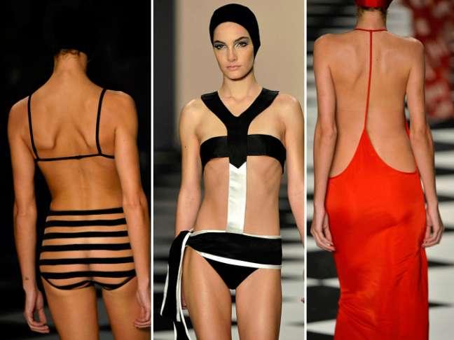 <p><br />Looks sensuais, diferentes e bem curtos; os estilistas ousaram nesta edição do SPFW. Confira a seguir</p>