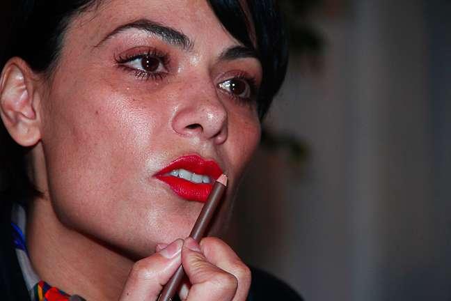 """<p>Fabiana Gomes émaquiadora sênior da M.A.C no Brasil e """"queridinha""""das tops e celebridades</p>"""