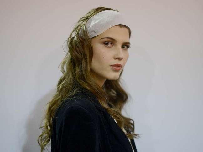 """<p>""""Eu já tive mais e era realmente um problema"""", diz a modelo Jessica Pantano, que tem hoje 88 cm de quadril</p>"""