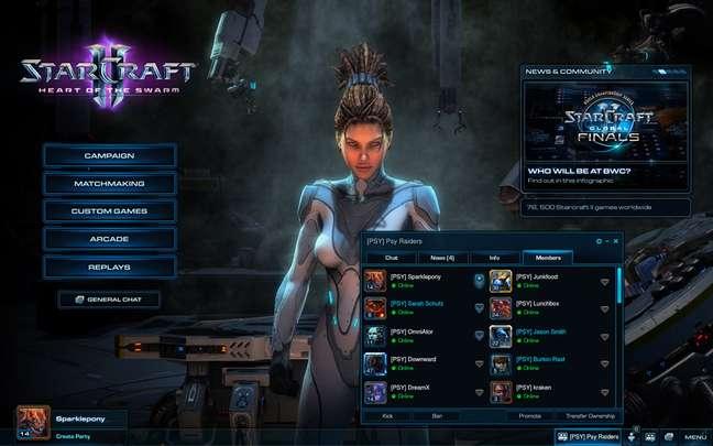 'Heary Of The Swarm', expansão de 'StarCraft II', foi lançado em 12 de março
