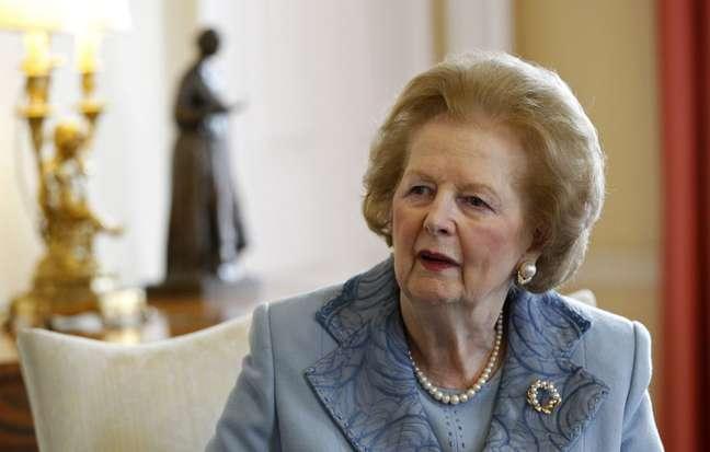 <p>Margaret Thatcher governou o&nbsp;Reino Unido&nbsp;de 1979 a 1990 pelo partido conservador</p>
