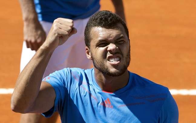 Tsonga vibra com vitória que deixou a França viva na Copa Davis