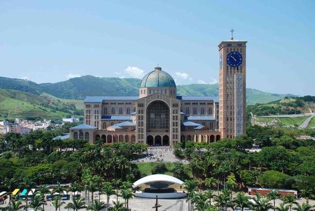 <p>Basílica de Nossa Senhora Aparecida, Brasil</p>