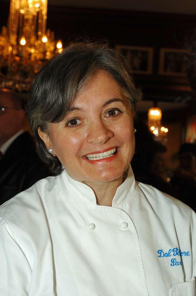 """<p>""""Comida é a melhor forma de encontrar a alegria da vida"""", comemorou Nadia Santini</p>"""