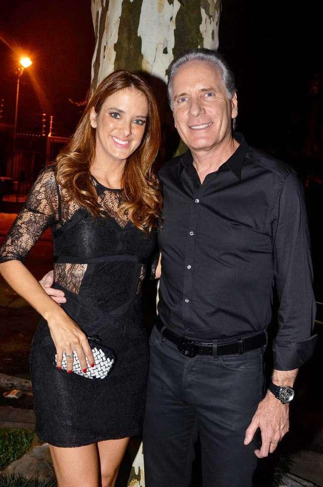 <p>Roberto Justus e Ticiane Pinheiro s&atilde;o casados desde maio de 2006</p>