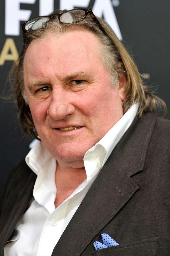 <p>Gerard Depardieu interpretaDominique Strauss-Kahn em filme sobre o escândalo sexual</p>
