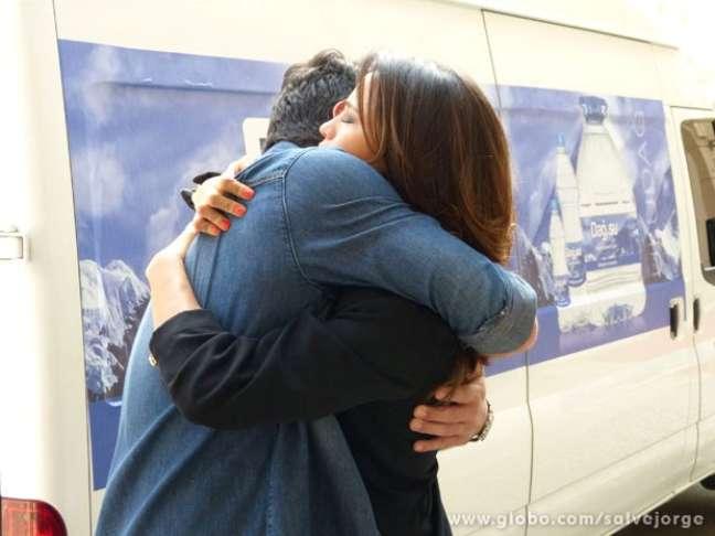 <p>O casal Morena (Nanda Costa) e Théo (Rodrigo Lombardi) teve final feliz em 'Salve Jorge'</p>