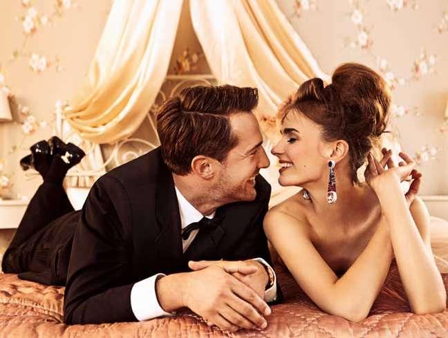 Foto da coleção da Chopard, inspirada em histórias de amor, para o Festival de Cannes