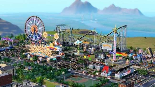 Expansão de parques de diversão chega no dia 28 de maio para 'SimCity'