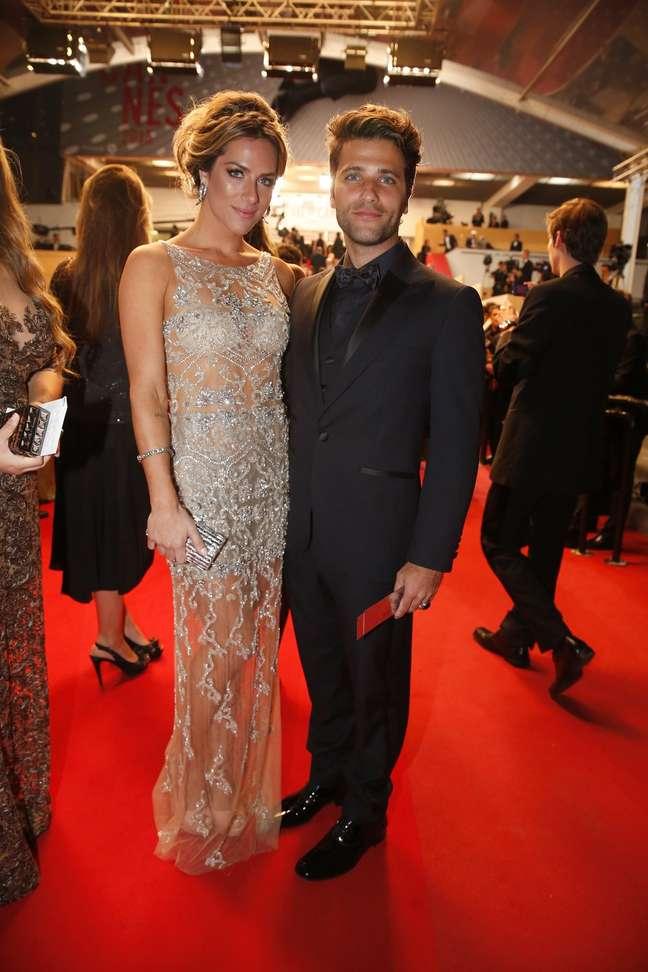 <p>Giovanna Ewbank e Bruno Gagliasso marcaram presença no festival de cinema de Cannes na última terça-feira (21)</p>
