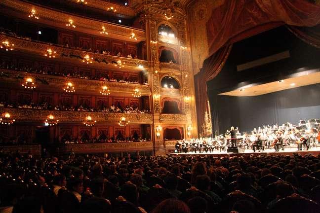 Inaugurado em 1908, o Teatro Colón é famoso por ter uma das melhores acústicas do mundo