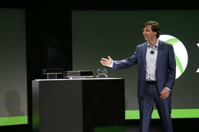 """""""Tive minha carreira inteira focada em tecnologia de entretenimento e nunca estive tão empolgado"""", disse Don Mattrick, presidente da área de entretenimento e negócios da Microsoft ao apresentar o Xbox One"""