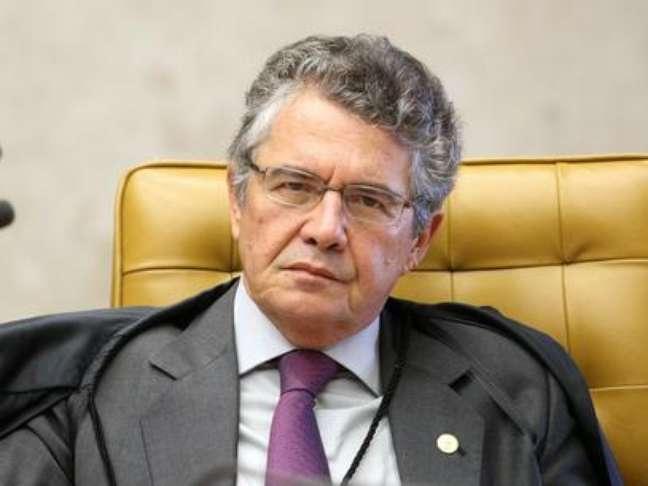 <p>Ministro Marco Aurélio Mello</p>