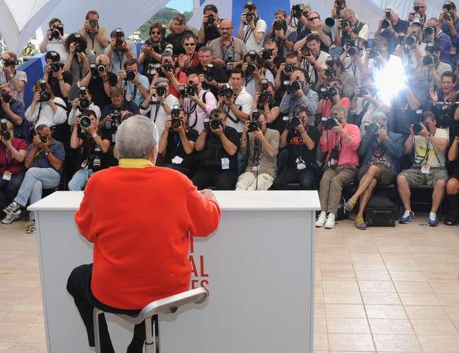 <p>O mito da comédia americana Jerry Lewis foi homenageado Festival de Cannes nesta quinta-feira (23), com a exibição de seu mais recente filme, 'Max Rose'</p>