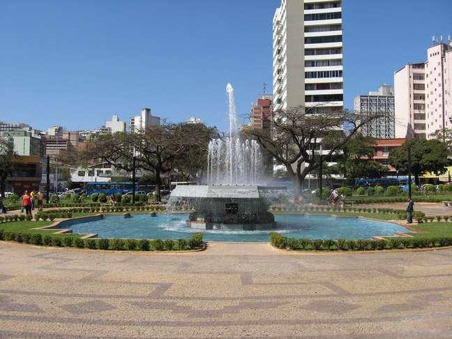 Belo Horizonte é uma cidade excelente para passeios a pé