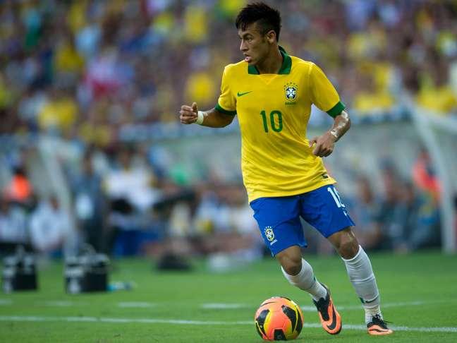 <p>Neymar teve boa participação principalmente no primeiro tempo</p>