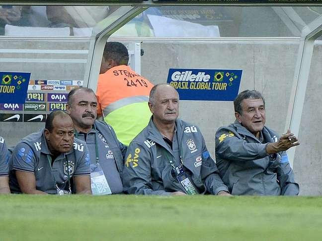 <p>Felipão segue sem vencer com força máxima desde que voltou à Seleção</p>