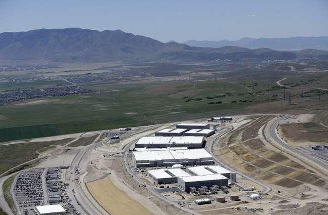 Imagem mostra o datacenter da NSA, em Utah