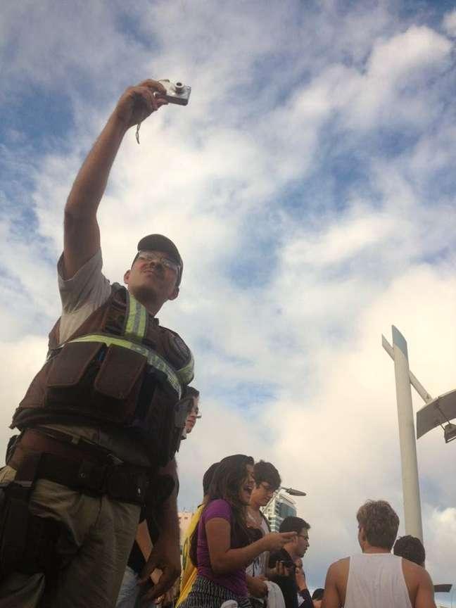 Milhares de pessoas tomaram o centro financeiro de Salvador para manifestar descontentamentos diversos