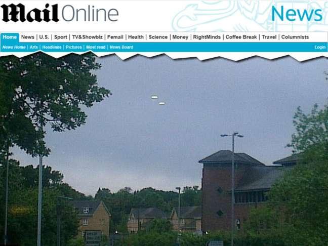 Britânico flagra possíveis óvnis sobre o céu da Inglaterra