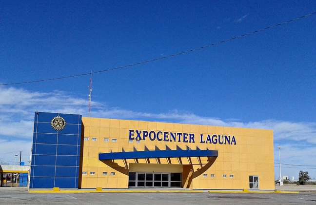 Espaço para eventos em Torreón fica próximo a hotéis e pode receber até 3 mil pessoas