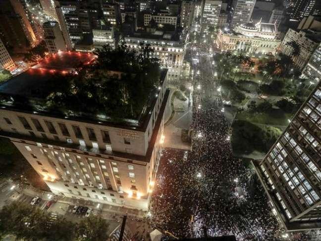 <p>A cidade de São Paulo enfrenta protestos contra o aumento na tarifa do transporte público desde o dia 6 de junho</p>