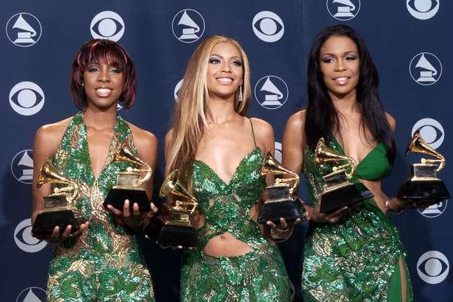 Beyoncé (centro) na época do Destiny's Child