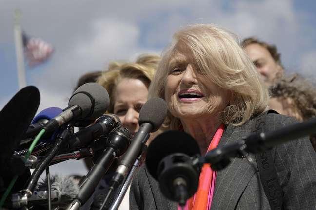 Edith Windsor entrou na Justiça contra a DOMA, motivando a discussão na Suprema Corte