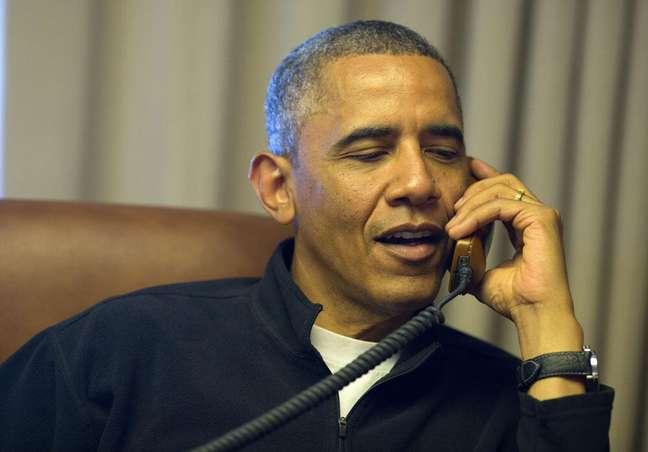 Obama telefona para Edith Windsor para dar os parabéns a ela pela decisão do tribunal