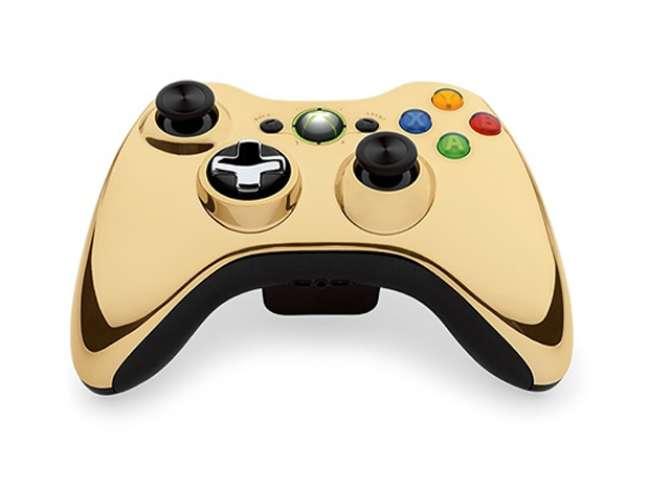 Controle dourado do Xbox 360 chegará em agosto na loja da Microsoft e GameStop, nos Estados Unidos, e em loja selecionadas do mundo