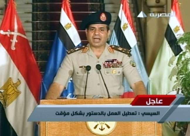 General Sisi fala à nação em rede nacional de televisão