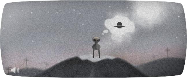 <p>Internauta tem que ajudar o ET a montar seu disco voador</p>